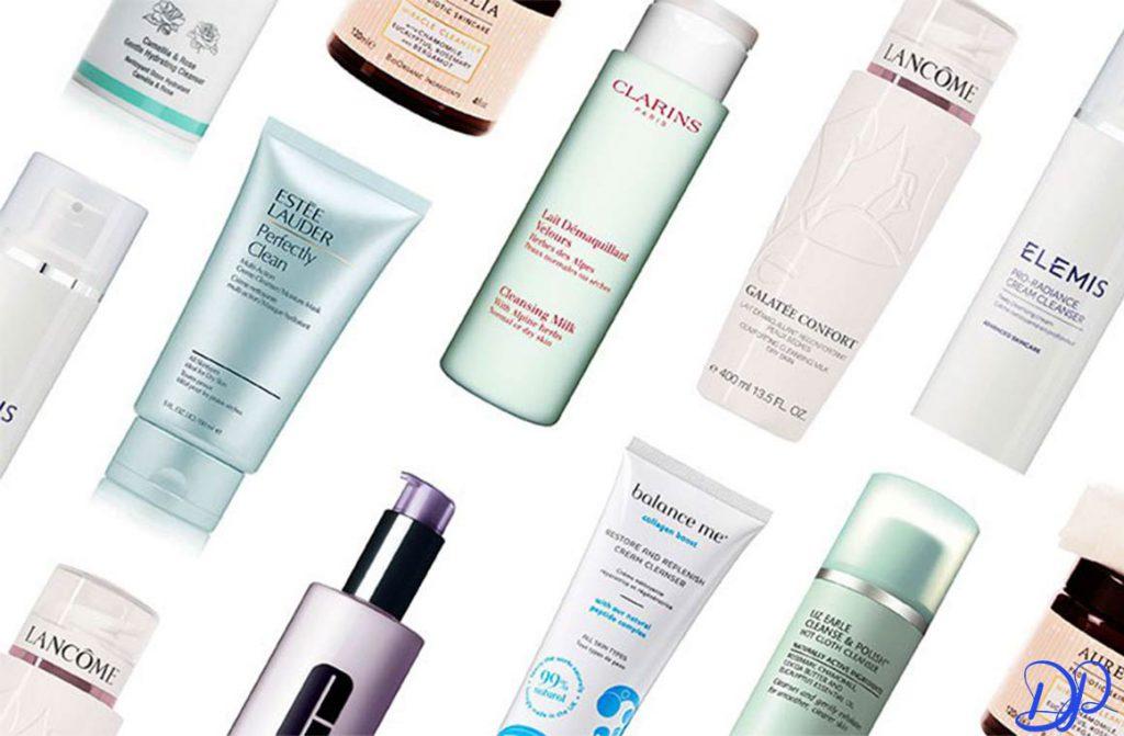 انواع مختلف لوازم آرایشی و بهترین پاک کننده آرایش صورت