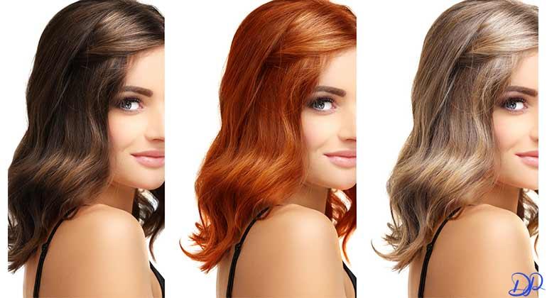 رنگ مو و تطابق با رنگ پوست
