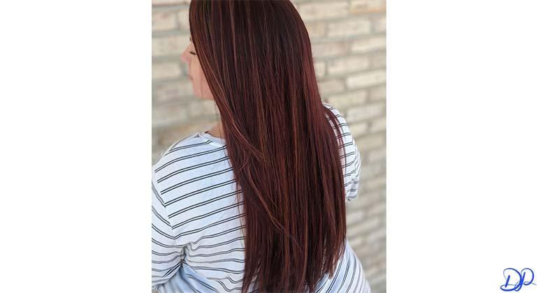 رنگ مو Orchard Red