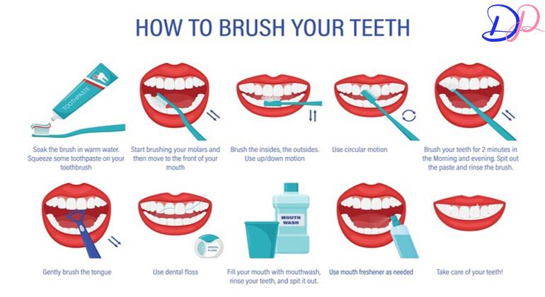 روش استفاده صحیح استفاده از خمیر دندان