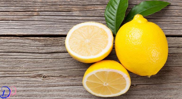 از بین بردن رد جوش با آب لیموی تازه