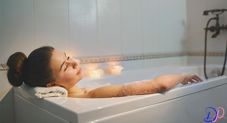 خشکی پوست و حمام